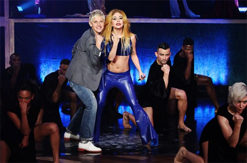 WATCH: Lady Gaga Performs 'Judas' On Ellen