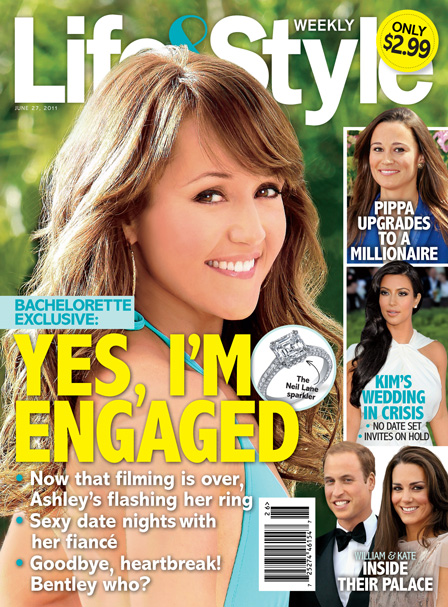 SPOILER: 'Bachelorette' Ashley Hebert is Engaged! See The Ring! Guess Who?!