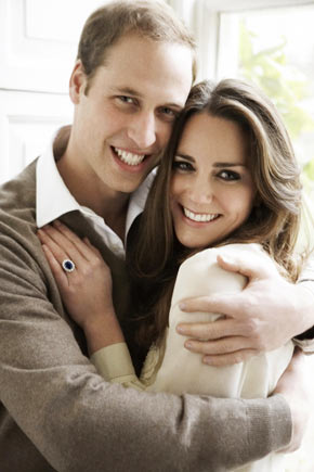Prince William and Kate Middleton - Royal Engagement Photos