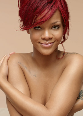 Rihanna Topless for Nivea