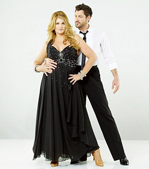 Kirstie Alley and Maks - Dancing With The Stars 12