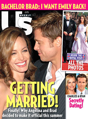 Brad Pitt & Angelina Jolie FINALLY Planning Their Wedding