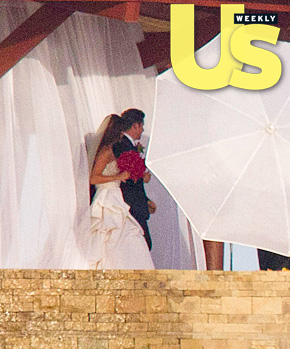FIRST LOOK: Vanessa Minnillo &#038; Nick Lachey Wedding PHOTOS