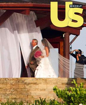Nick Lachey and Vanessa Minnillo WEDDING Photos