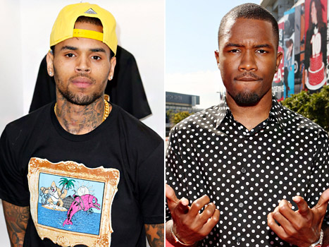 chris brown and frank ocean