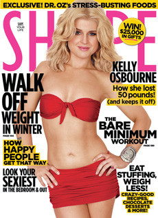 Kelly Osbourne Shape Magazine Cover December 2010