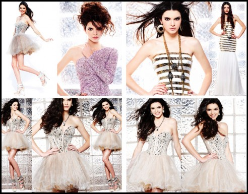 Kendall Jenner Prom Dress Shoot
