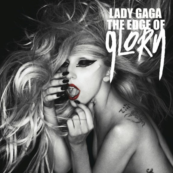 Lady Gaga 'The Edge of Glory' Official Single - Artwork - Cover