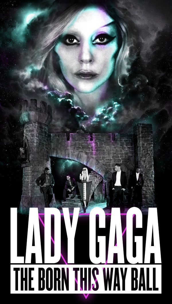 Lady Gaga Announces 2012-13 The Born This Way Ball World Tour Dates