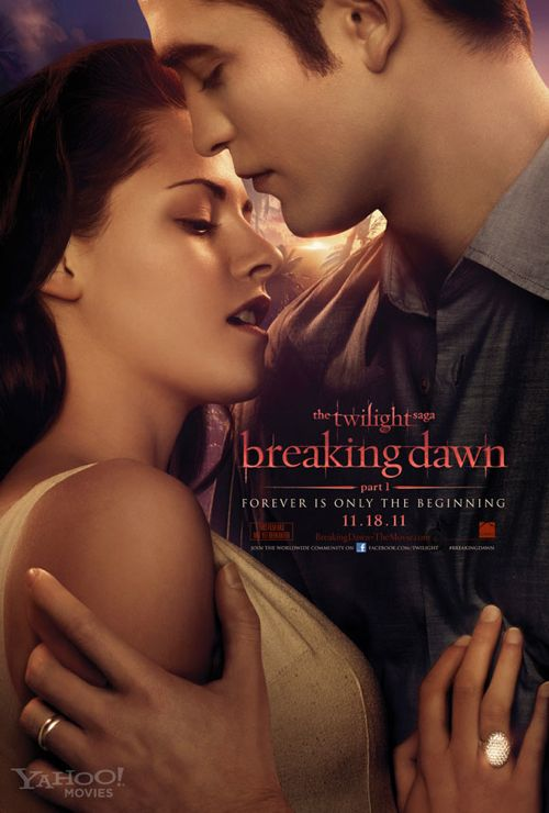 Breaking Dawn Part 1 Teaser Poster - Edward and Bella