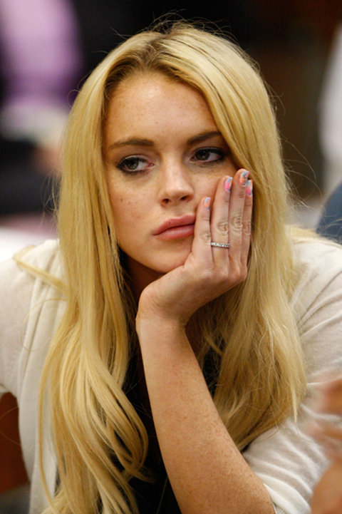 Lindsay Lohan Faces 8 Months In Prison After Lying To Cops
