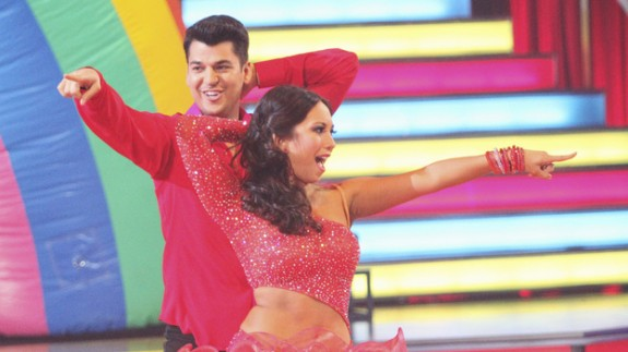 DWTS - Rob Kardashian and Cheryl