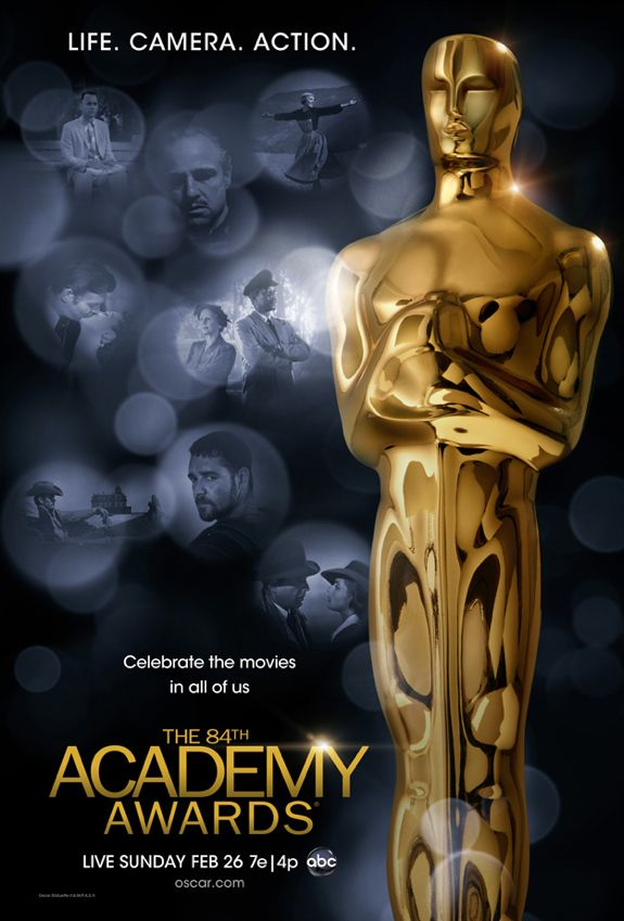 84th Annual Academy Awards Poster is Here
