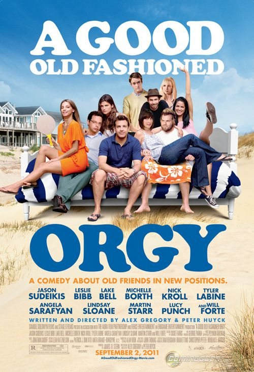 Jason Sudeikis: 'A Good Old Fashioned Orgy' Official Poster Has Arrived