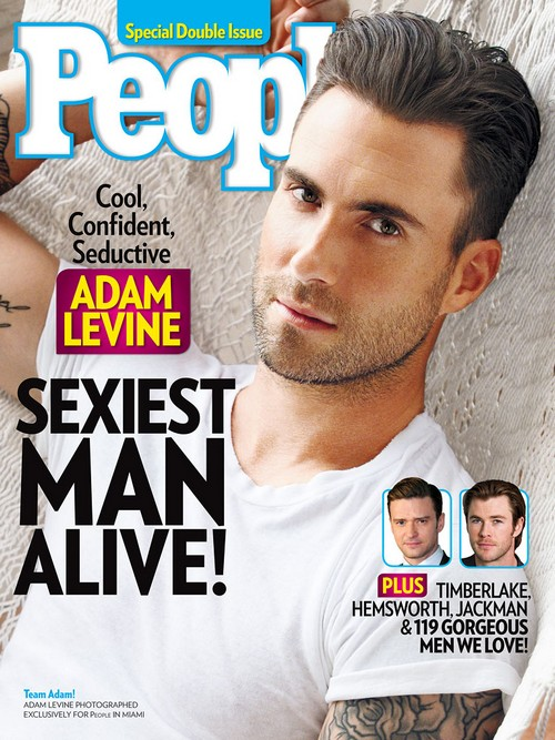 Adam Levine Is The Sexiest Man Alive