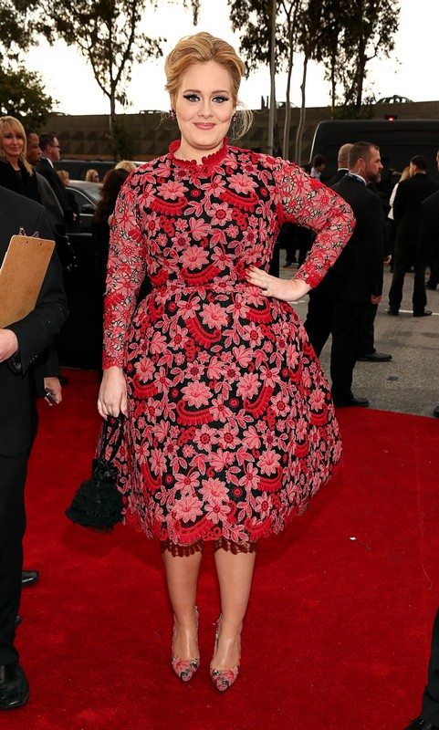 Adele-2013-Grammy-Awards-Red-Carpet-Arrival