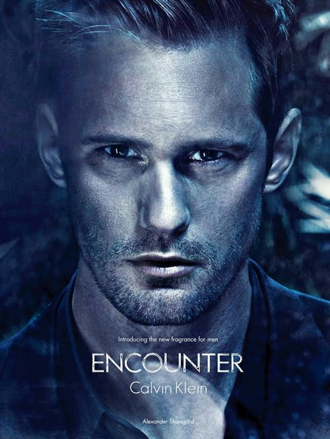Alexander Skarsgard Stars in Steamy New Calvin Klein Advertisement