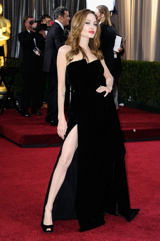 Angelina Jolie The Leg