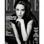 Angelina Jolie Covers Elle Magazine, Discusses Her Children, Brad Pitt, And Her Wild Twenties