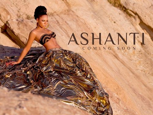 Ashanti Teases With New Promo Pic For 'Coming Soon'