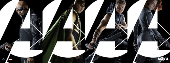 NEW: &#8216;The Avengers&#8217; Banners Are Rad!