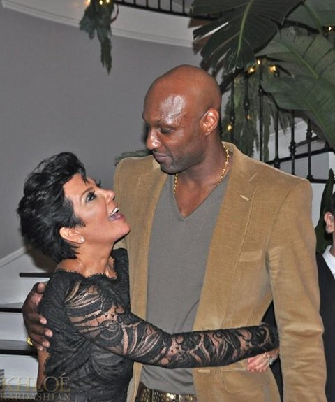1.	Does Kris Jenner Have A Crush On Daughter Khloe Kardashian Husband Lamar Odom?