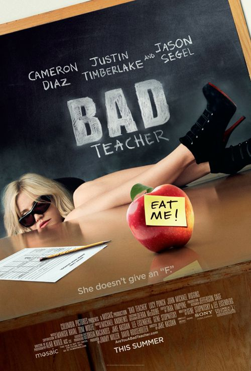 Cameron Diaz Is A Very 'Bad Teacher' (Trailer)
