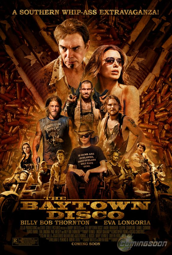 'The Baytown Disco' Movie Poster is Busy