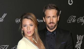 Blake Lively And Ryan Reynolds Name Baby Girl 'James'
