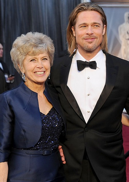 Brad Pitt's Mom Throws Anti-Gay Grenades