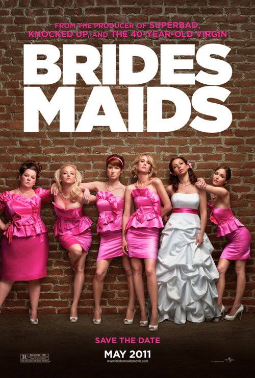 'Bridesmaids' Official Trailer and Poster Unveiled