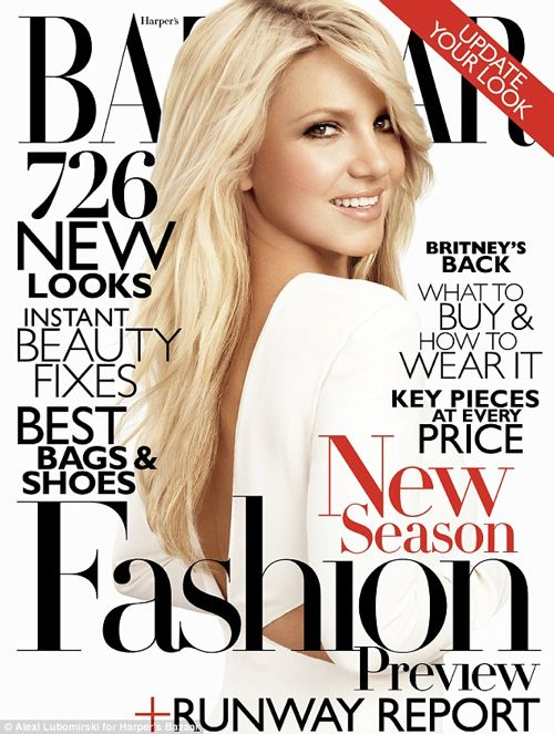 Britney Spears Is Stunning For Harper's Bazaar – June 2011 – PHOTOS