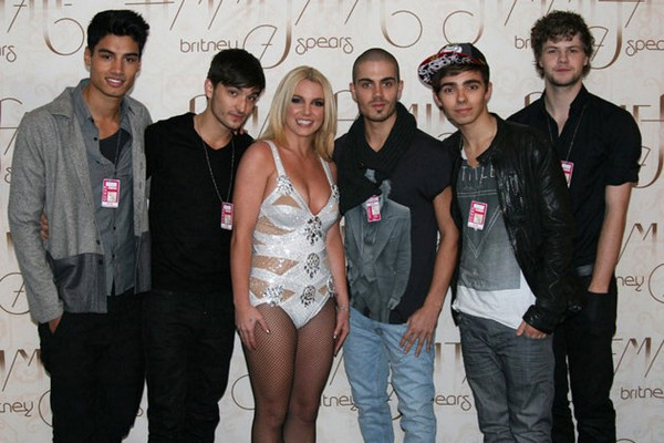 The Wanted Say They Were Forced To Face A Wall When Britney Spears Passed By