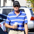 Exclusive... Bruce Jenner Makes A Starbucks Run In Westlake Village