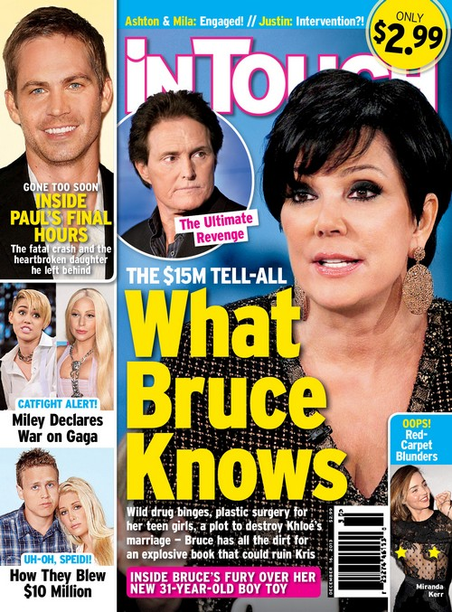 Bruce Jenner Writing Explosive Tell-All About Kris Jenner