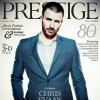 Captain America Chris Evans Covers Prestige Hong Kong