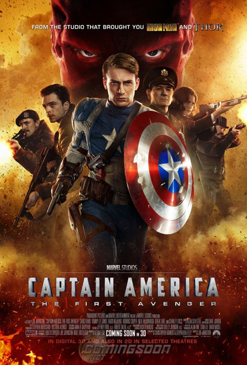International 'Captain America' Poster is Fully Loaded