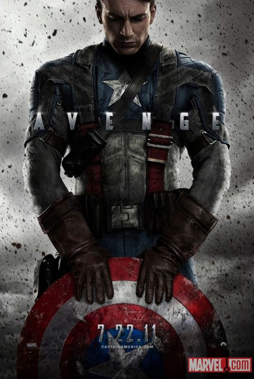 THE Captain America Poster Has Landed