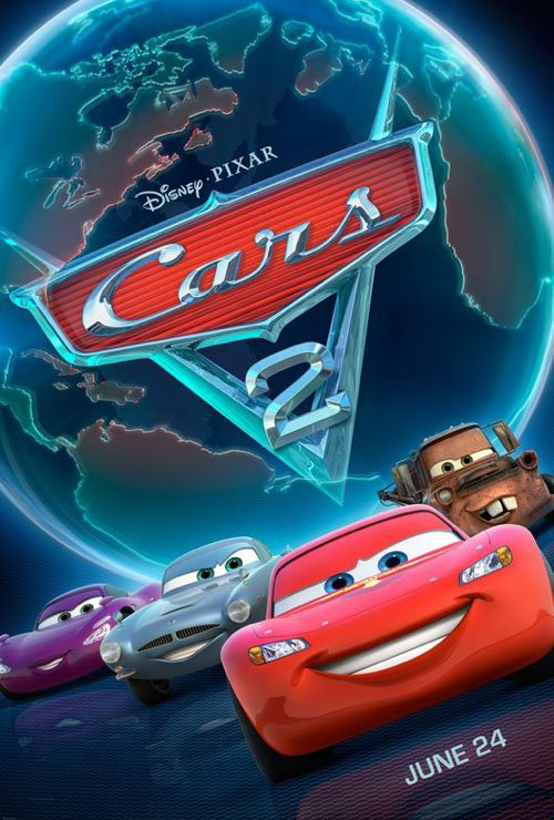 Brand NEW: 'Cars 2′ Poster Unveiled