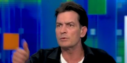 Charlie Sheen Goddess Gets Tattoo of His Name