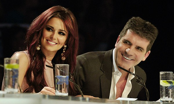 Cheryl Cole and Simon Cowell X Factor