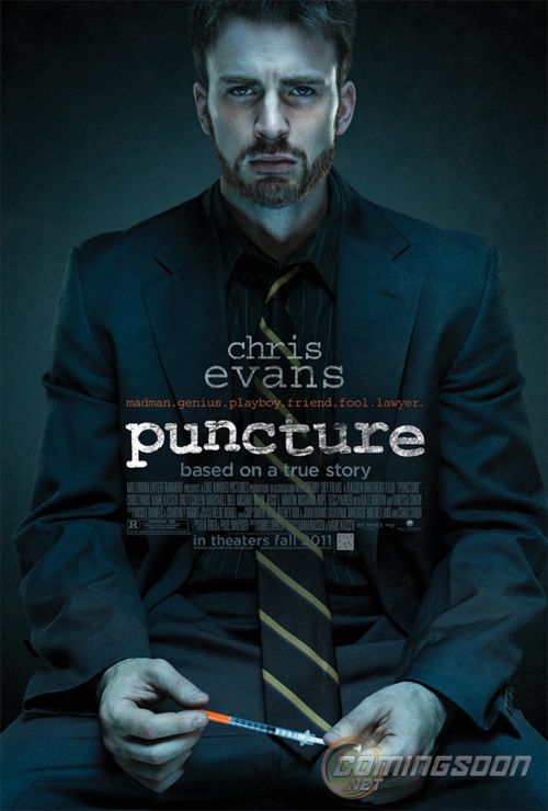 FIRST LOOK: Chris Evans in 'Puncture'