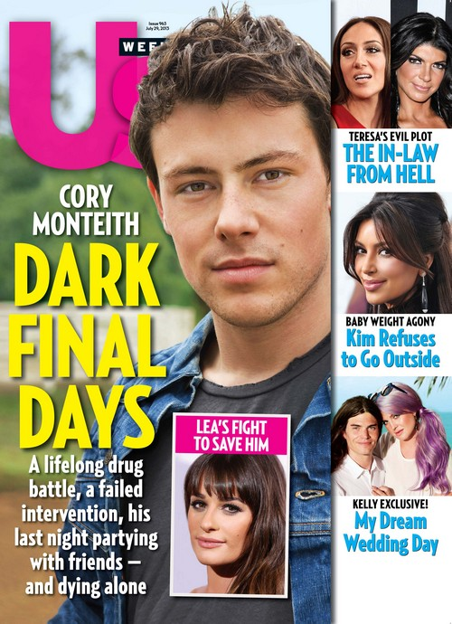 Cory Monteith's Dark Final Days - How Lea Michele Tried To Save Him
