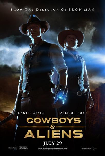 BRAND NEW 'Cowboys & Aliens' Trailer Drops