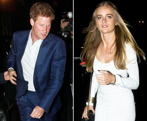 Nude Pics of Prince Harry Gets Him Dumped By Girlfriend Cressida Bonas