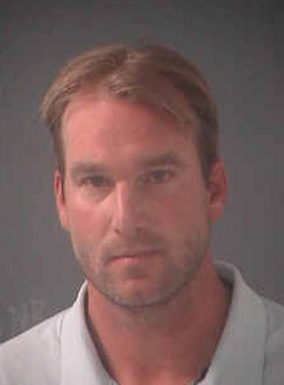 Atlanta Braves - Derek Lowe DUI Mugshot
