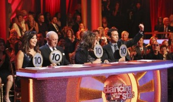 CARRIE ANN INABA, LEN GOODMAN, ABBY LEE MILLER, BRUNO TONIOLI