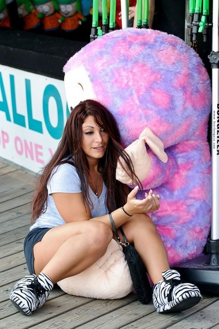 Jersey Shore's Deena Cortese Busted!