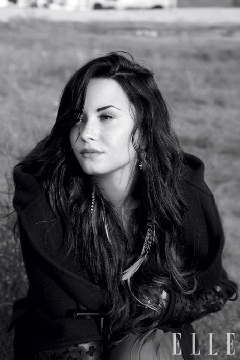 PHOTOS: Demi Lovato is OPEN and Stunning For ELLE