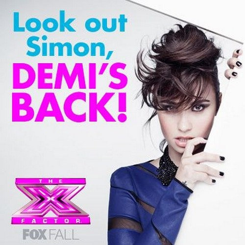 Demi Lovato Returning To The X Factor For Season 3: CONFIRMED